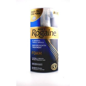 Rogaine for men hair regrowth treatment, easy-to-use foam, 24 months supply, 24 cans 2.11-ounce each