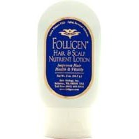 Folligen lotion for hair loss and thinning hair