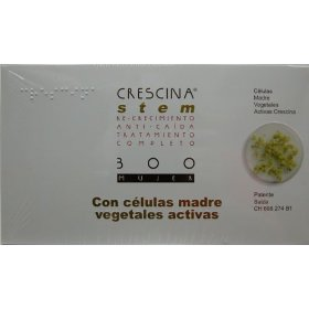 Crescina stem complete treatment: re-growth & anti-hairloss 300 women (labo): indicated in cases of advanced thinning hair