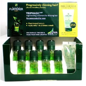 Triphasic rene furterer hair regenerating formula for hair loss 8 ct