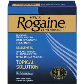 Rogaine solution 3-month supply