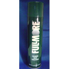 Fullmore colored hair thickener 7.5 oz. - dark brown
