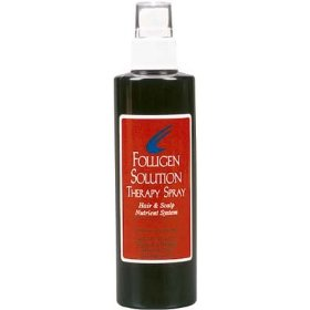Folligen solution therapy spray