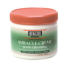 AFRICAN PRIDE Miracle Creme Hair Dressing 5.3oz/150g