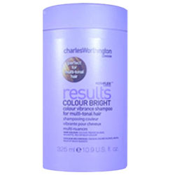 CHARLES WORTHINGTON Results Colour Bright Shampoo for Multi-Tonal Hair 10.9oz/325ml
