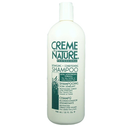 CREME OF NATURE Professional Detangling Conditioning Shampoo Ultra Moisturizing Formula For Dry, Brittle or Color-Treated Hair 32 oz/946 ml