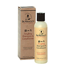 Dr. Miracles 2-in-1 Tingling Shampoo and Conditioner