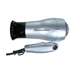 HAI Ion Travel Ion Ceramic Far Infrared with Tourmaline Hair Dryer with Folding Handle (Model: HAIT)