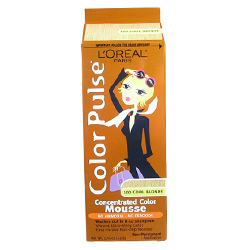 LOREAL Paris Color Pulse  Concentrated Color Mousse Non-Permanent 1.76oz/49.8g COOL BLONDE