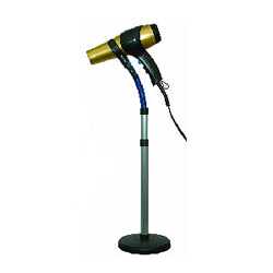 LUXOR Universal Hair Dryer Stand Holds All Hair Dryers (Model: 1700)