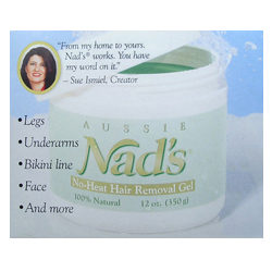 NADS Hair Removal System (Includes 12oz Hair Removal Gel)