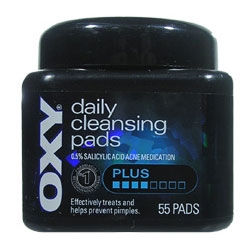 OXY Daily Cleansing Pads Plus (55 Pads)