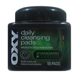 OXY Daily Cleansing Pads Standard (Quantity: 55 Pads)