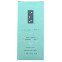 PATIVA Alternative Wave Advanced Formulation for Tinted, High Lift Tinted, or Bleached Hair