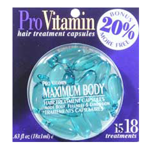 PRO VITAMIN Hair Treatment Capsules Body Fullness & Dimension 0.63