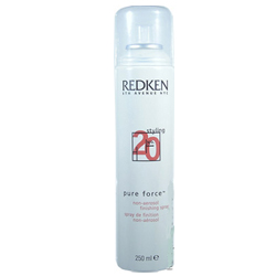 REDKEN 5th Avenue NYC Styling No. 20 Pure Force Finishing Hair Spray Non Aerosol 250ml