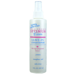 SOFT SHEEN Optimum Care Leave In Conditioner with Sage & Peppermint Extracts Protects, Strengthens & Adds Shine 8oz/237ml