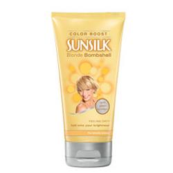 SUNSILK Blonde Bombshell Color Boost for Blonde Colorers 6oz/170g
