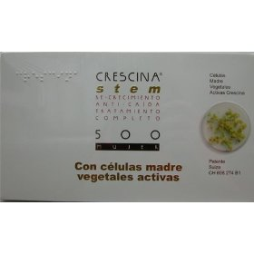 Crescina stem complete treatment: re-growth & anti-hairloss 500 women (labo): indicated in cases of incipient baldness