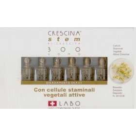 Crescina stem re-growth 300 men (labo): indicated in cases of advanced thinning hair