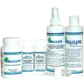 Follicare all natural hairloss treatment kit