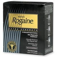 Men's,rogaine ex stren hair regrowth treatment-3pksx2oz