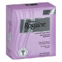 Rogaine womens hair regrowth treatment - 2 oz x 3 packs
