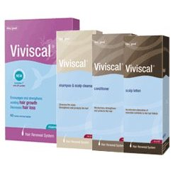 Viviscal set for women - includes: shampoo, conditioner, scalp lotion, tablets