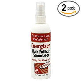 Energizer hair follicle stimulator, with jojoba & vitamin b-5, 8-ounces  (pack of 2)