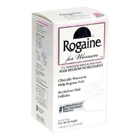 Rogaine hair regrowth treatment for women, 2 fl oz (60 ml)
