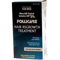 Follicare minoxidil 5% for men - ideal for hair regrowth and to stop hair loss