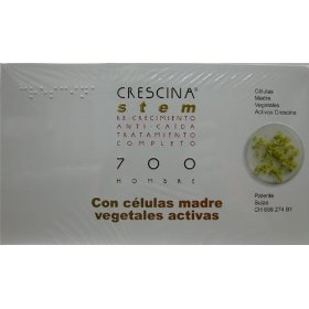 Crescina stem complete treatment: re-growth & anti-hairloss 700 men (labo): indicated in cases of advanced incipient baldness. (stage v/vi)