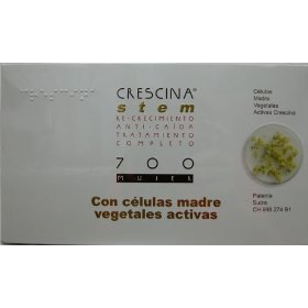 Crescina stem complete treatment: re-growth & anti-hairloss 700 women (labo): indicated in cases of advanced incipient baldness. (stage v/vi)