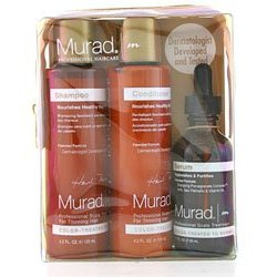 Murad starter kit 3 piece set, scalp treatment for color treated hair