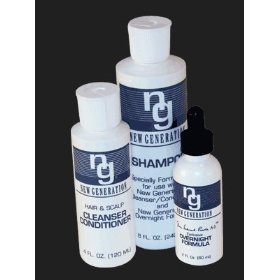 3-piece set - new generation original shampoo, cleanser/conditioner, overnight formula