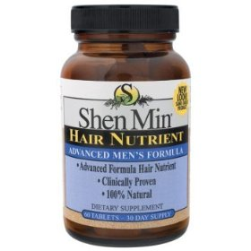 Biotech shen min advanced formula hair nutrient for men tablets 60 each