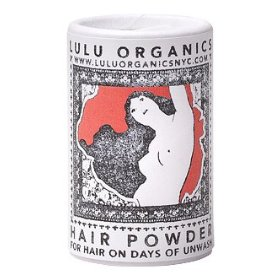 Lavender & clary sage travel hair powder 1 oz. by lulu organics