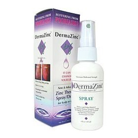Dermazinc - zinc therapy spray/drops - 4 oz