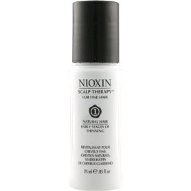Nioxin scalp therapy for fine hair system 1, natural hair | early stages of thinning