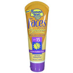 BANANA BOAT Faces Plus Bronzer UVA & UVB Sun Block SPF 15 4oz/118ml