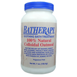 BATHERAPY Soothing Bath Treatment 100% Natural Colloidal Oatmeal 7 oz/198.4 g