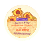 FREEMAN Beautiful Body Sunflower & Vanilla Sugar Ultra Rich Body Butter 8oz/200g