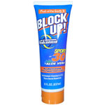 FRUIT OF THE EARTH Block Up Sport SPF 30 Full Spectrum Protection 8oz/237ml
