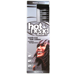 HOT HEAD Streak'n Wash out Hair Color Heavy Metal 5oz/150ml