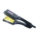 HOT TOOLS Professional Square Hair Crimper with 10 Heat Settings (Model: 1195)