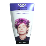 ICE Hair Spiker Colorz Metallix Colored Styling Glue Panic Purple 1.69oz/50ml