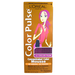 LOREAL Paris Color Pulse Concentrated Color Mousse Non-Permanent (1 Application) 1.76oz/49.8g CHILLED PLUM