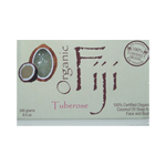 ORGANIC FIJI Tuberose Coconut Oil Soap for Face & Body 8.5oz/240g
