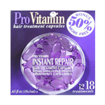 PRO VITAMIN Hair Treatment Capsules Instant Repair Damaged Hair 0.63oz