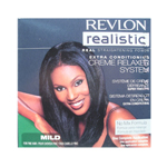 REVLON Realistic Extra Conditioning Creme Relaxer System No Mix Formula for Fine Hair Mild Strength (Quantity: 1 Complete Application)
